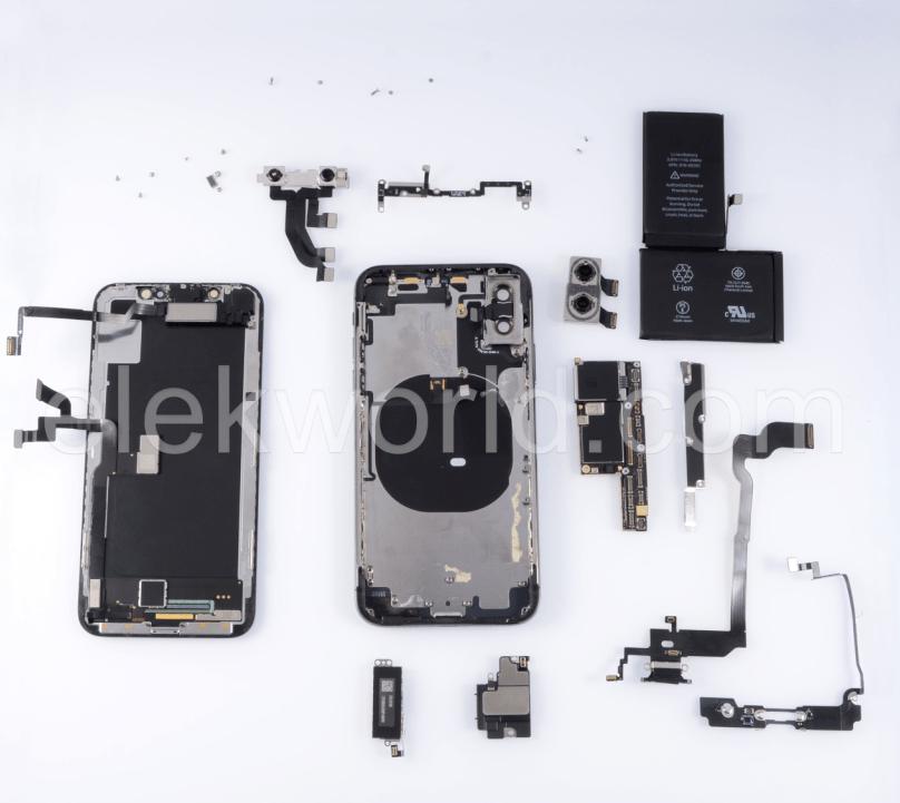iPhone X  reparatie kijkje aan de binnenkant