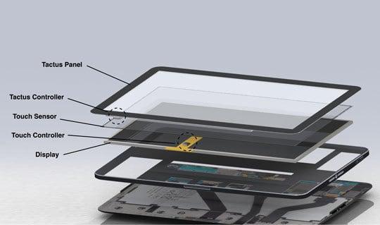 Enkel het glas vervangen van de smartphone